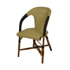 triomphe rattan arm chair outdoor